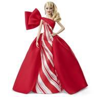 0887961689211 - Mattel - Poupée Barbie Noël 2019 Blonde