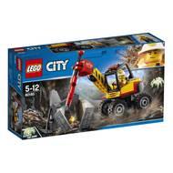 5702016109511 - LEGO® City - 60185- L'excavatrice avec marteau-piqueur