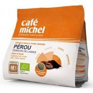 3483981300012 - Café Michel - Café bio dosettes souples Pérou x18
