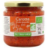 3022820420612 - Nutriform - Carottes Lacto-fermentée bio