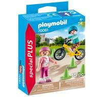 4008789700612 - PLAYMOBIL® Spécial Plus - Enfants avec vélo et rollers