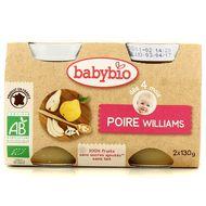 3288131510712 - Babybio - Poire Williams bio, dès 4 mois
