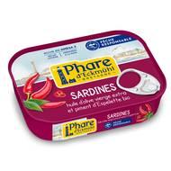 3263670152012 - Phare d'Eckmuhl - Sardines au piment d'Espelette Bio, préparées à la main