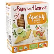 3380380072512 - Le pain des fleurs - Tartines Craquantes Apéritif  Bio à l'Oignon