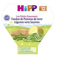 4062300163812 - Hipp - Fondue de Pommes de terre Légumes verts Saumon