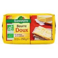 3396413714212 - Bonneterre - Beurre doux bio
