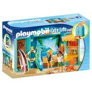 4008789056412 - PLAYMOBIL® City Life - Coffre Boutique de surf transportable