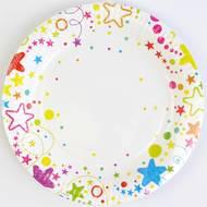 3760126008812 - Dyna Party - 6 assiettes en carton Méli Mélo