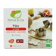 3760154260213 - Nature & Cie - Pâte brisée Bio sans gluten - 24 cm