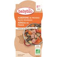 3288131520513 - Babybio - Menu Du Jour - Moussaka d'agneau au parmesan Bio dès 8 mois