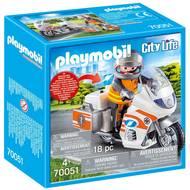 4008789700513 - PLAYMOBIL® City Life - Urgentiste et moto