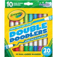 0071662083113 - Crayola - Feutres de coloriage double pointe