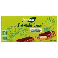 3396410153113 - Evernat - Formule Choc' - Biscuit chocolat lait et fourrage lait bio