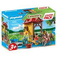 4008789705013 - PLAYMOBIL® Country - Starter pack Box et poneys