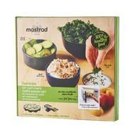 3485990646013 - Mastrad - Kit Cuit chips et mandoline Healthy Noir
