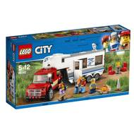 5702016077513 - LEGO® City - 60182- Le pick-up et sa caravane