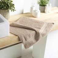 3574388010014 - Douceur D Interieur - Serviette de toilette Eponge Taupe