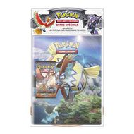 3558380040514 - Asmodée - Pack cahier + booster Pokemon Soleil et Lune S3