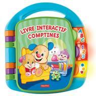 0887961041514 - Fisher-Price - Livre interactif comptines