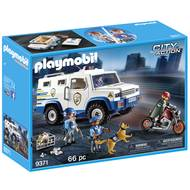 4008789093714 - PLAYMOBIL® City Action - Fourgon blindé avec convoyeurs de fonds