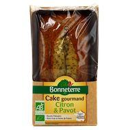3396411224614 - Bonneterre - Cake bio au citron et au pavot