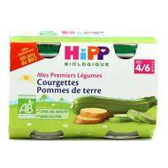 4062300285514 - Hipp - Courgettes Pommes de terre bio dès 4/6 mois