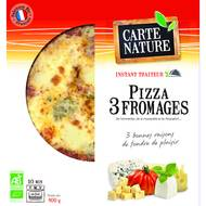3700477606114 - Carte Nature - Pizza 3 fromages bio