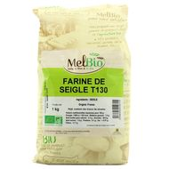 3556355010715 - Melbio - Farine de Seigle bio T130