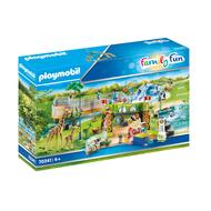 4008789703415 - PLAYMOBIL® Family Fun - Parc animalier