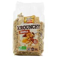 3421557110016 - Grillon Or - Céréales krounchy granola bio
