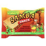 4006040000716 - Rapunzel - Gaufrette Bio noisette et chocolat Samba Snack