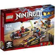 5702015591416 - LEGO® Ninjago - 70600- La poursuite en moto des Ninjago
