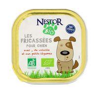 3700654000117 - Nestor Bio - Fricassées Bio pour Chien de Volaille