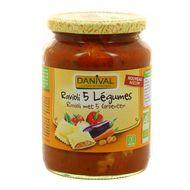 3431590002117 - Danival - Ravioli aux 5 légumes bio