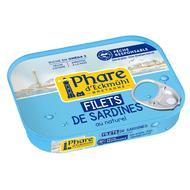 3263670003017 - Phare d'Eckmuhl - Filets de sardines au naturel Pêche Responsable