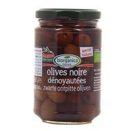 8029689004217 - Biorganica Nuova - Olives Noires dénoyautées en saumure bio