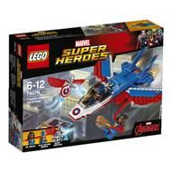 5702015868617 - LEGO® Super Heroes Marvel - 76076- La poursuite en avion de Captain America