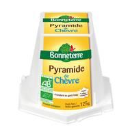 3396410222918 - Bonneterre - Pyramide de chèvre frais bio