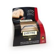 Labeyrie - Bloc Foie gras de canard avec morceaux + lyre