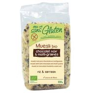 3380380074318 - Ma Vie Sans Gluten - Muesli bio chocolat noir et multi-graines