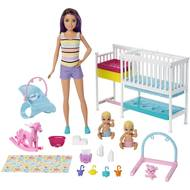 0887961764918 - Mattel - Coffret Skipper et la chambre des jumeaux- Barbie