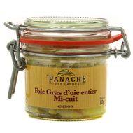 3356650007218 - Panache Des Landes - Foie Gras d'Oie du Sud Ouest entier Mi-cuit
