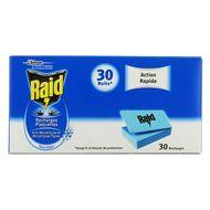 5000204869118 - Raid - Recharges plaquettes action rapide sans odeur pour diffuseur électrique