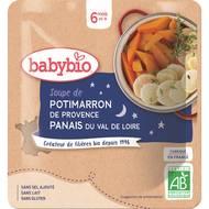 3288131570419 - Babybio - Soupe de Potimarron de la Drôme & Panais bio, dès 6 mois