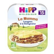 4062300250819 - Hipp - Assiette Lasagnes à la Bolognaise bio dès 15 mois