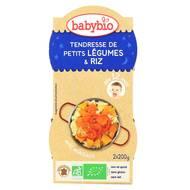 3288131520919 - Babybio - Bonne Nuit - Tendresse de petits légumes riz dès 12 mois, bio
