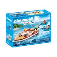 4008789700919 - PLAYMOBIL® Family Fun - Bateau avec bouées et vacanciers