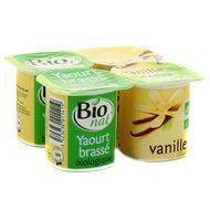 3523230011419 - Bionat - Yaourt brassé à la vanille bio