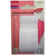 3040693603819 - Crea Pecam - Rallonge pour soutien-gorge blanc