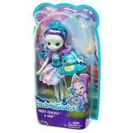 0887961695519 - Enchantimals - Mattel - Mini poupée Patter paon et Flap- Enchantimal- FMX74